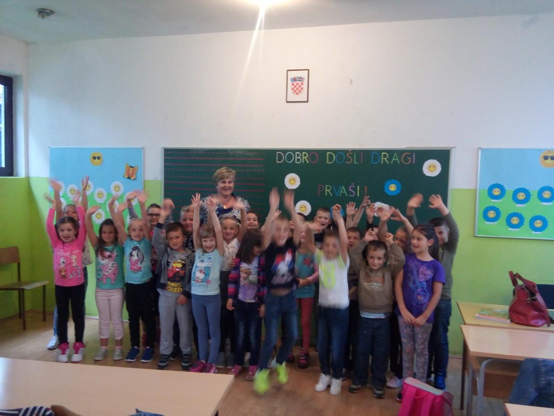Prvi dan škole – Dragi naši prvašići, dobro nam došli!