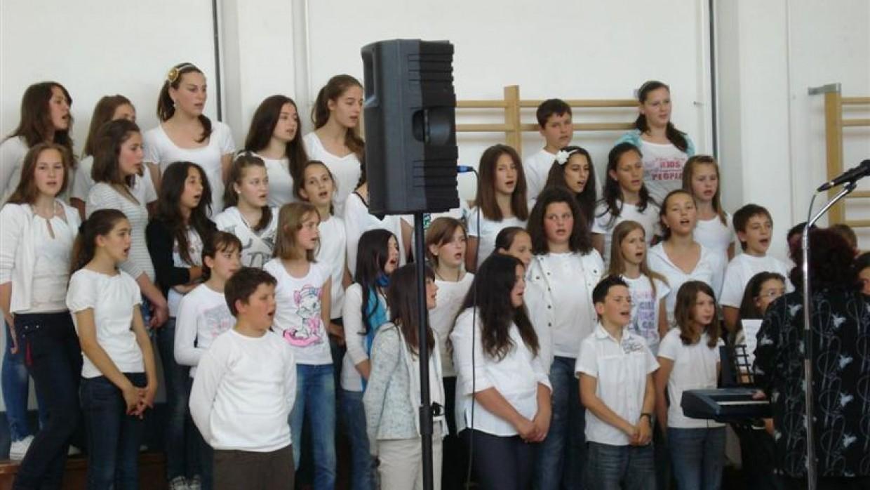 Izvješće o radu školskog zbora
